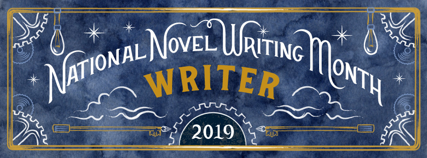 2019 NaNoWriMo Facebook Cover