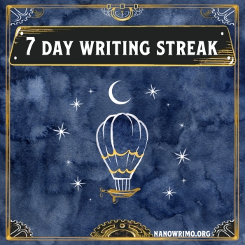 Day 7 writing badge