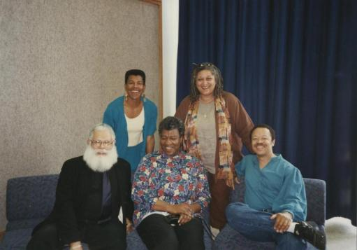 Samuel Delany, Tananarive Due, Steven Barnes, Jewelle Gomez, and Octavia Butler
